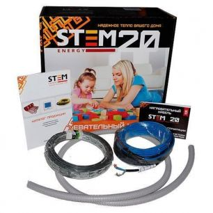 Греющий кабель StemEnergy 1400/20 длина комплекта 70 м.