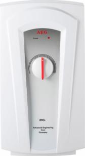 Водонагреватель проточный электрический напорный AEG RMC 45