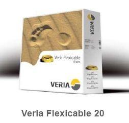 Двухжильный нагревательный кабель для теплого пола Veria Flexicable-20  970вт  50 м