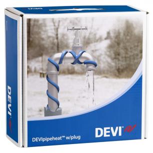 Обогрев труб DEVI нагревательный кабель саморегулируемый Deviflex DPH-10 (Pipeheat)    6 м    60 Вт