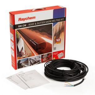 Греющий кабель для систем антиобледенения кровли и водостоков Raychem GM-2CW  20м